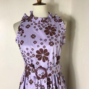 kate spade Dresses - Kate Spade belted floral dress